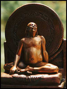Sculpture of Adi Da Samraj: by Peter Lennon