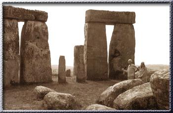 Avatar Adi Da Samraj visiting Stonehenge